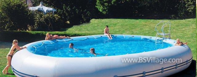 I pro e i contro delle piscine fuori terra - Costo di una piscina interrata ...
