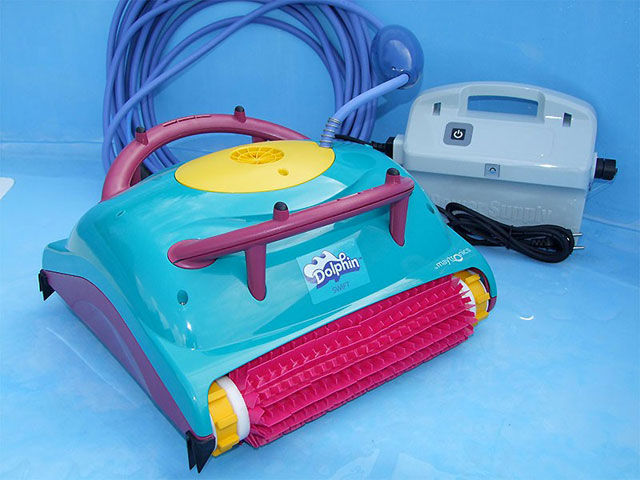 robot piscine fondo