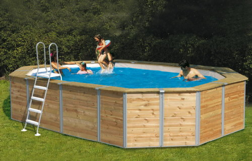 I pro e i contro delle piscine fuori terra - Piscine fuori terra rivestite ...