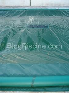 copertura con griglia filtrante