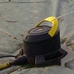 Pompa per svuotamento copertura invernale