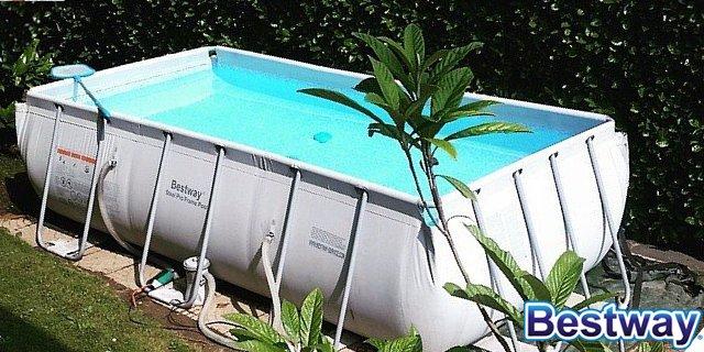 Bestway le migliori piscine fuori terra per il tuo giardino - Cosa mettere sotto piscina fuori terra ...