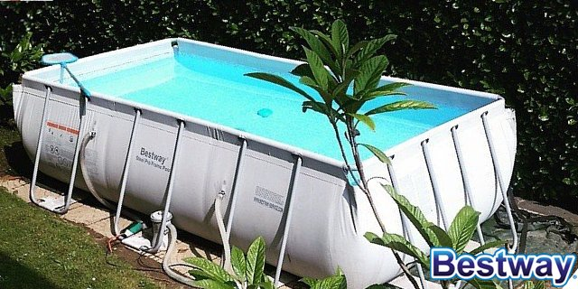 Bestway le migliori piscine fuori terra per il tuo giardino for Piscina 488x274x122