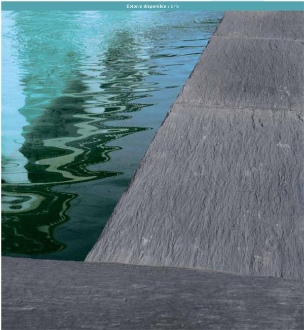 L 39 eleganza dell 39 ardesia sta a bordo piscina blog piscine for Bordi per piscina prezzi