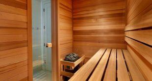interno sauna finlandese