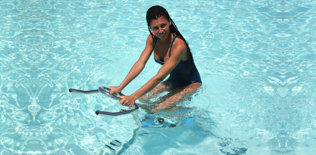 Il fitness in acqua con cyclette e tapis roulant blog for Club piscine fitness tapis roulant
