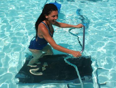 Cyclette e tapis roulant per piscina
