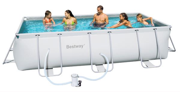 La nuova linea di piscine bestway si rinnova e perfeziona - Manutenzione piscina fuori terra bestway ...