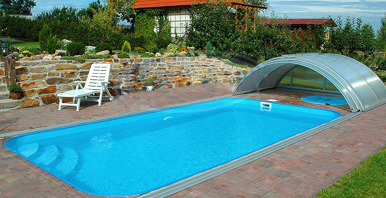 Kit piscine monoblocco in polipropilene all inclusive for Piscine da giardino interrate