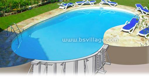 Piscine in pannelli di acciaio solidit qualit e - Costi piscina interrata ...