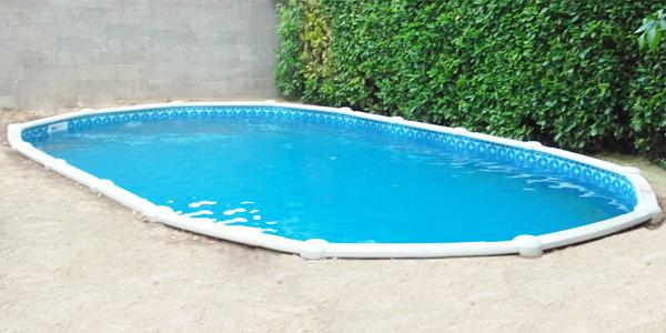 Consigli per interrare una piscina fuori terra blog piscine - Piscine rigide fuori terra ...