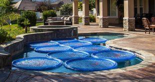 riscaldare l'acqua della piscina con gli aneli solari