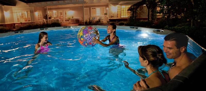 luci per piscina fuori terra