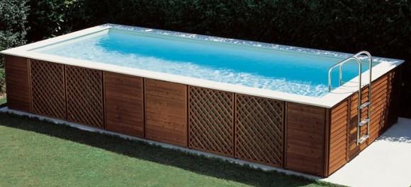 Installare una piscina fuori terra quali competenze - Piscina fai da te legno ...
