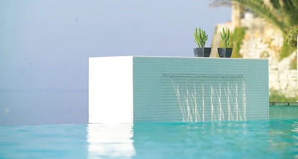 Fontane e cascate per piscine blog piscine - Cascate per piscine ...