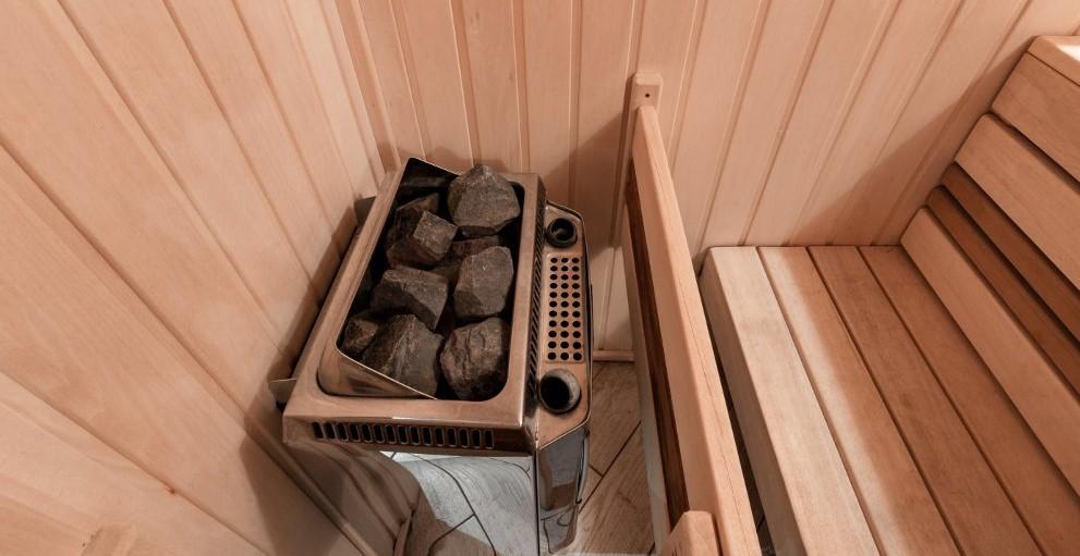alimentazione sauna finlandese