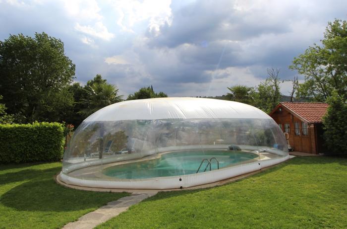 Come funziona una copertura gonfiabile per piscina blog for Giardino invernale
