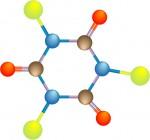 Molecola di Tricloro