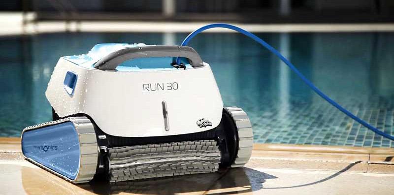 robot piscina dolphin run 30