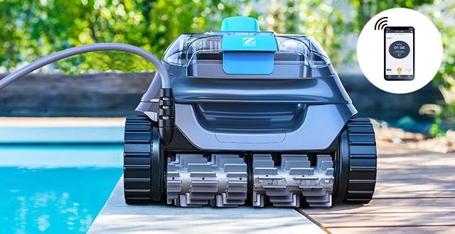 robot per piscine fuori terra cnx zodiac