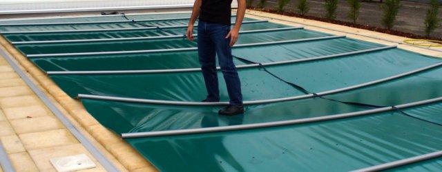 Coperture di sicurezza per piscine a barre rigide
