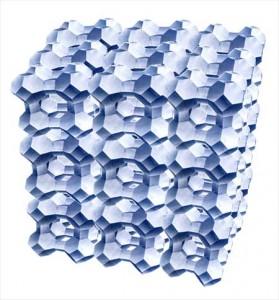 struttura Zeolite per filtrazione piscina