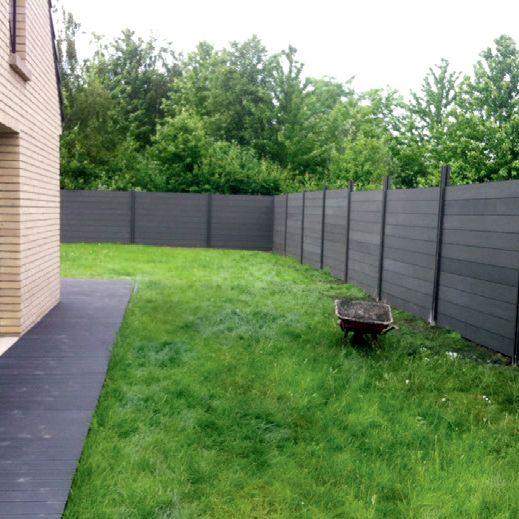 Recinzione piscina e giardino in wpc innovazione ed estetica for Pannelli recinzione giardino