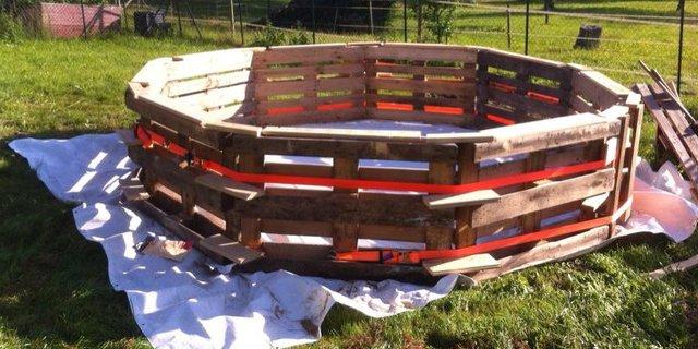 Costruire una piscina con i pallet ecco come fare for Como hacer una alberca paso a paso