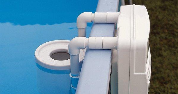 Skimmer in piscina: cos'è e come funziona | aquazzura