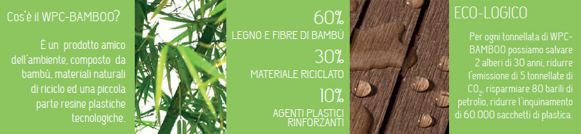 WPC materiale ecologico