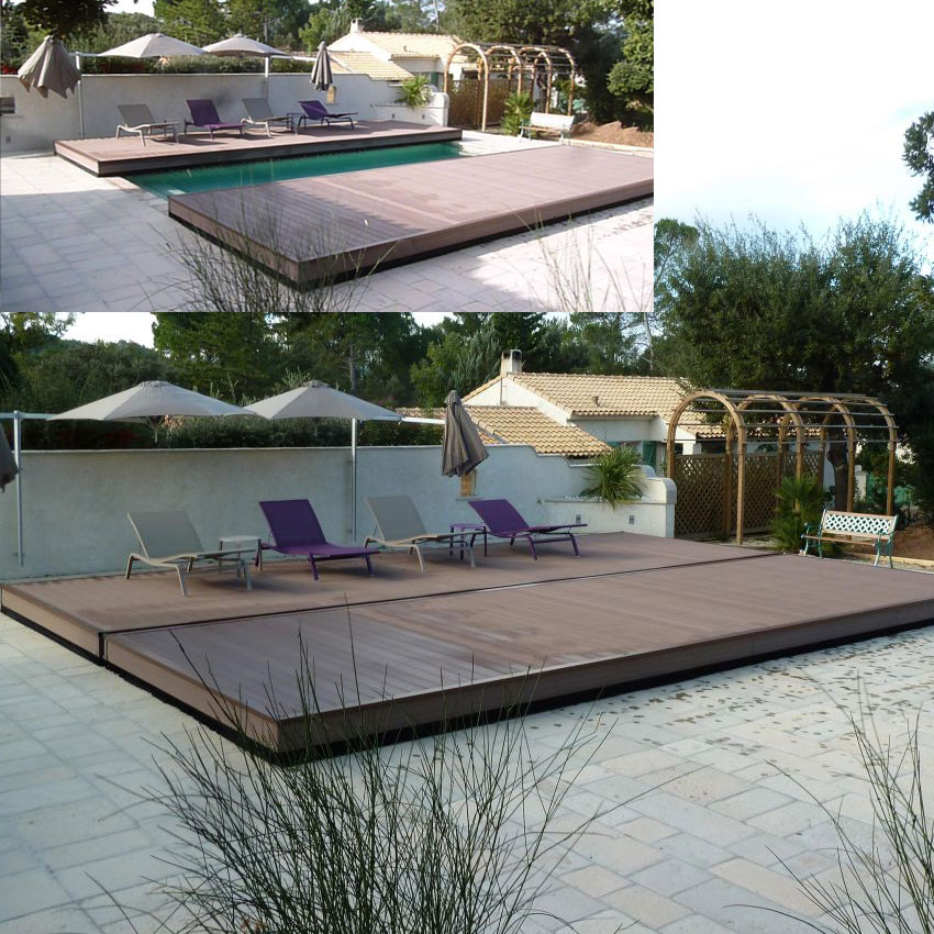 scopri coverwood la copertura mobile a terrazza per piscine