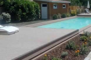 Copertura piscina a terrazza CoverWood