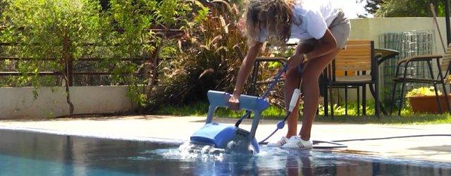 Rimuovere il robot dall'acqua
