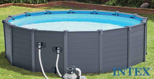 piscina intex sequoia la bellezza di una fuori terra. Black Bedroom Furniture Sets. Home Design Ideas