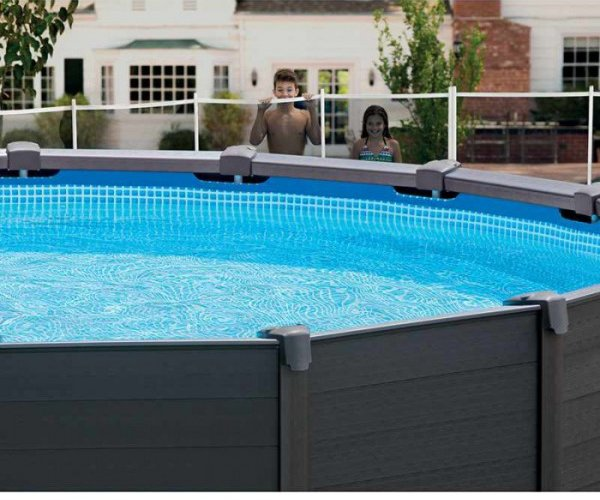Piscina intex sequoia la bellezza di una fuori terra for Liner pour piscine intex sequoia