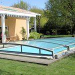 coperture telescopiche flat per piscine