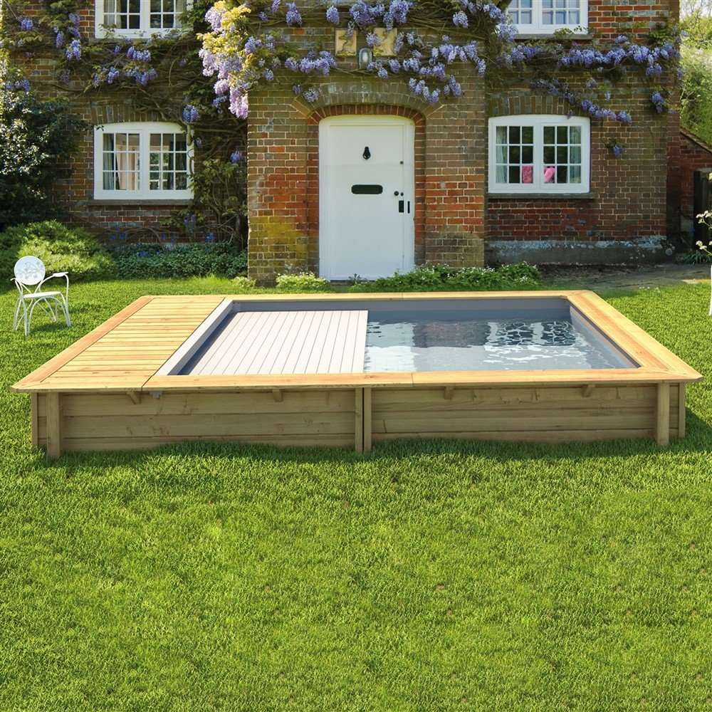 Piscina in legno urban un vero gioiello per la tua casa - Piccole piscine in casa ...