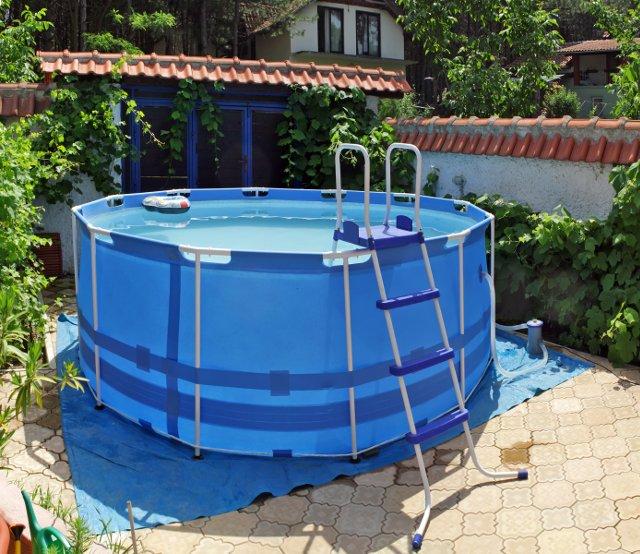 chiusura invernale delle piscine fuori terra morbide