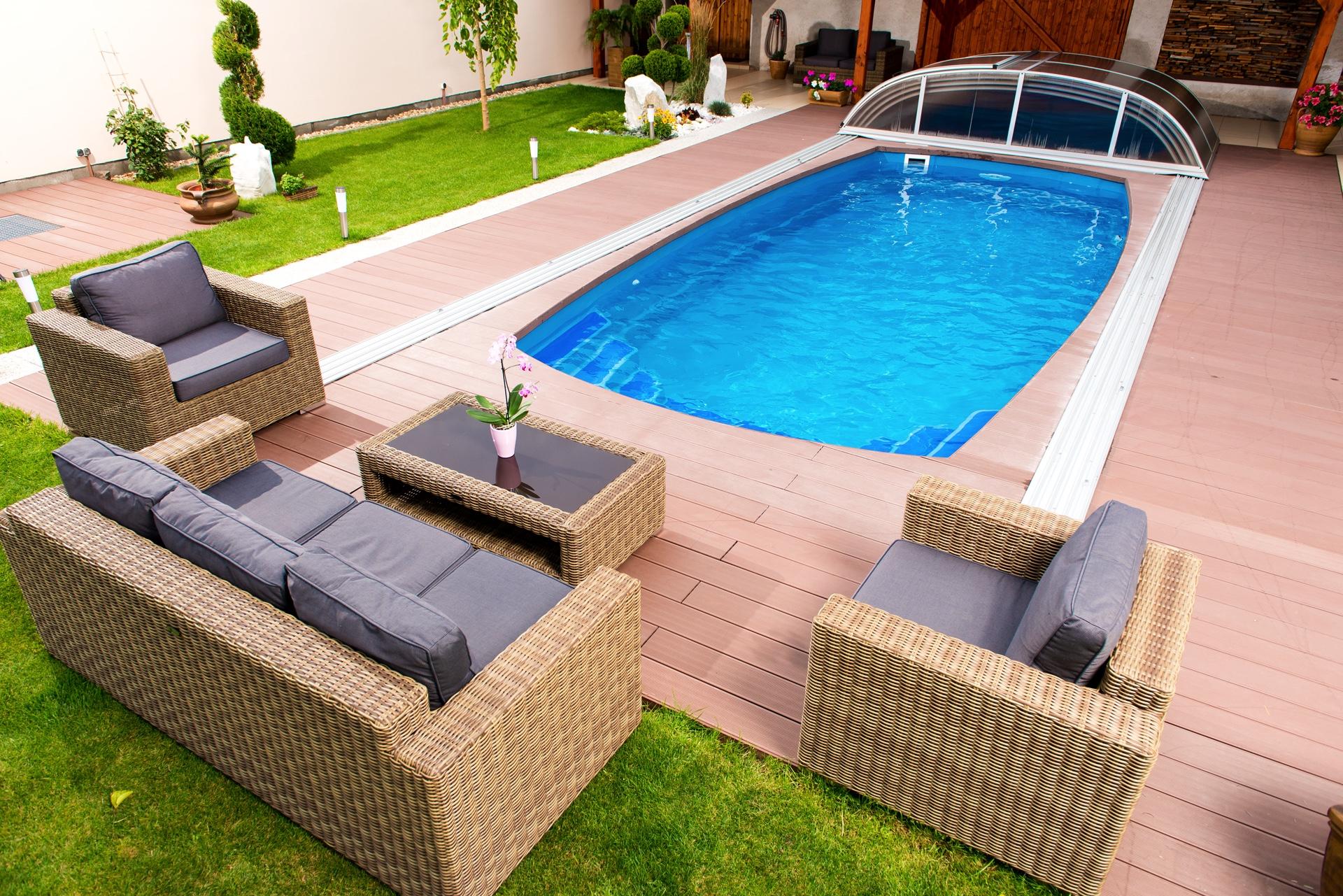 Piscine Interrate Prezzi Tutto Compreso piscine in vetroresina interrate calypso: 7 modelli unici