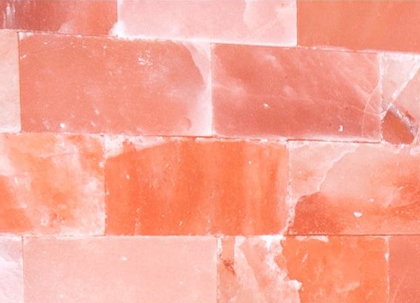parete sauna al sale