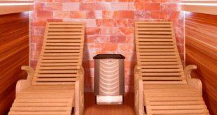 sauna al sale interno