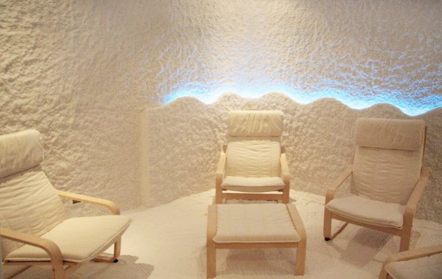 haloterapia e sauna al sale