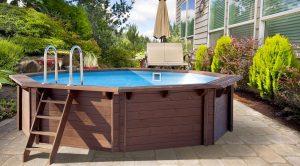 manutenzione piscina fuori terra in legno