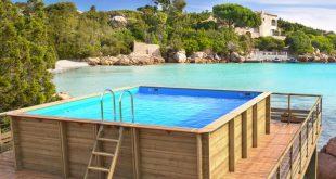 Costruire una piscina con i pallet ecco come fare - Recinzione piscina legno ...