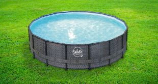 piscina fuori terra swing wicker
