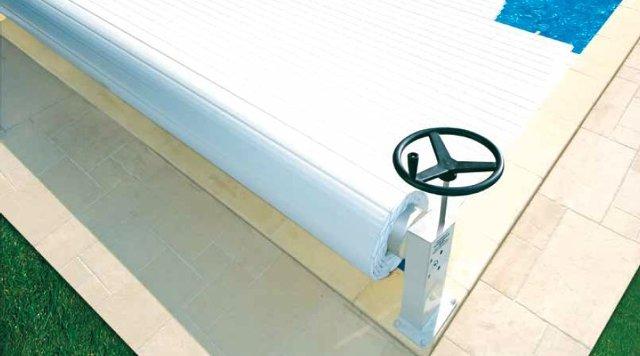 funzionamento coperture a tapparella per piscine