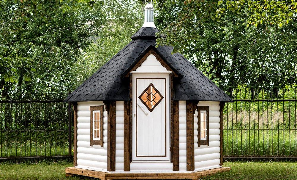 saune da esterno a casetta