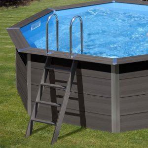 scaletta piscine in wpc