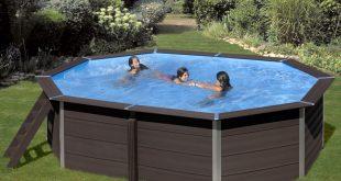 piscine in wpc ottagonali lunghe