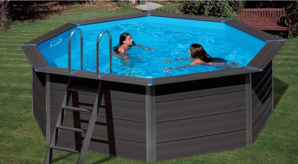 piscine in wpc ottagonale